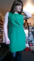 Anna Secret Poet New Green Dress 4